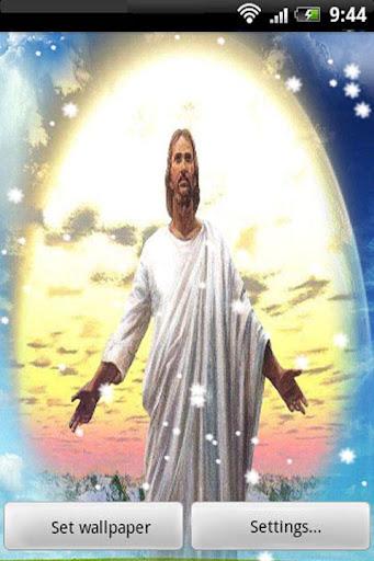 玩程式庫與試用程式App|Jesus Christ Live Wallpaper免費|APP試玩