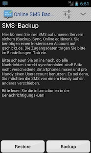 SMS Backup & Restore Online- screenshot thumbnail