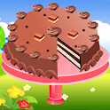 Candybar cheese cake maker icon
