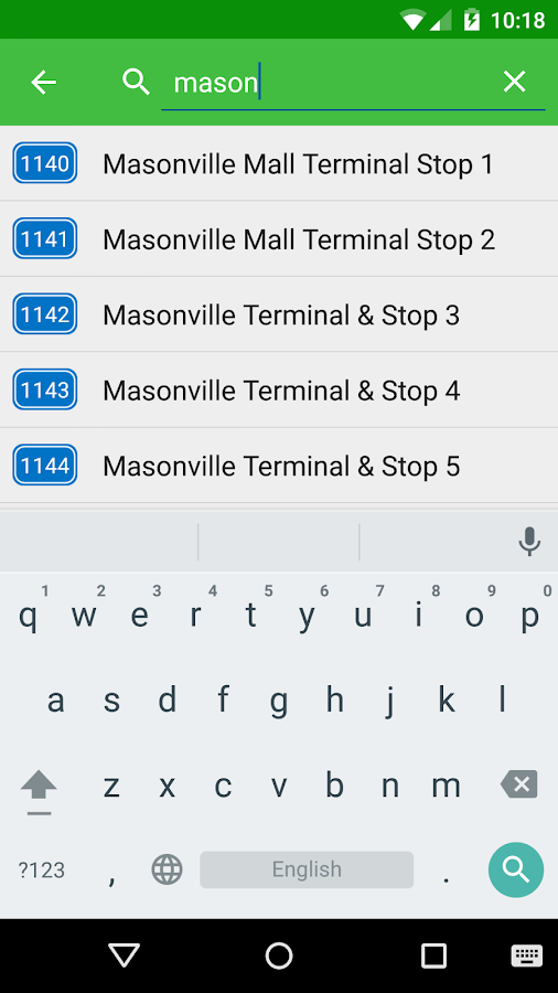 myLTC 🚌 (London Transit) - screenshot