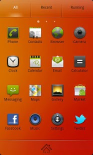 Nanairo Theme GO Launcher EX - screenshot thumbnail