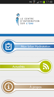 Mon bilan hydratation- screenshot thumbnail