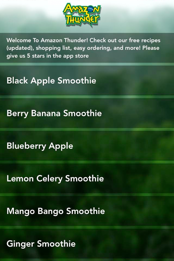 Acai Juice - Amazon Thunder- screenshot