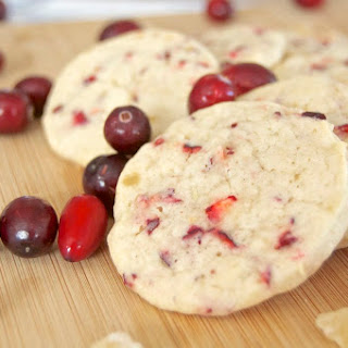 Cranberry Ginger Sugar Cookies ~ Day 1 of the 12 Days of Cookies '12
