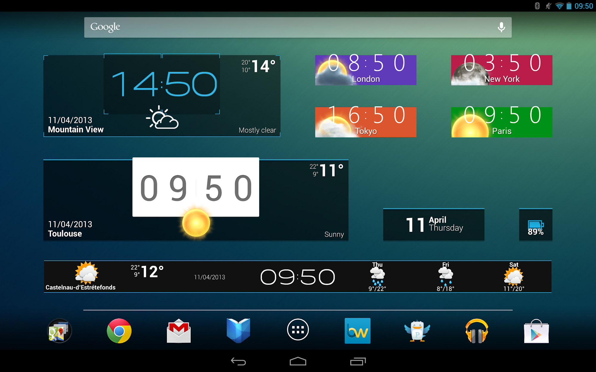 Beautiful Widgets Pro screenshot #12