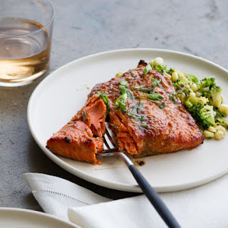 Roasted Miso-Glazed Salmon