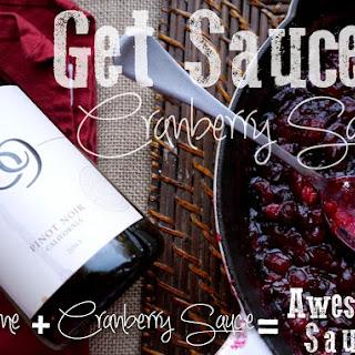 Get Sauced Cranberry Sauce
