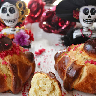 Mexican Day of the Dead Bread.