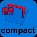 MedRett compact logo