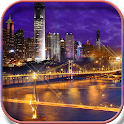 City Night HD Live Wallpaper