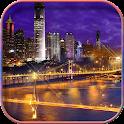 City Night HD Live Wallpaper icon