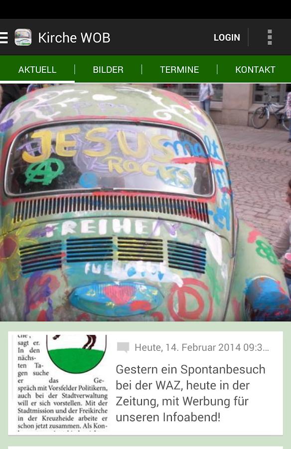 Projekt: Kirche für Wolfsburg - screenshot