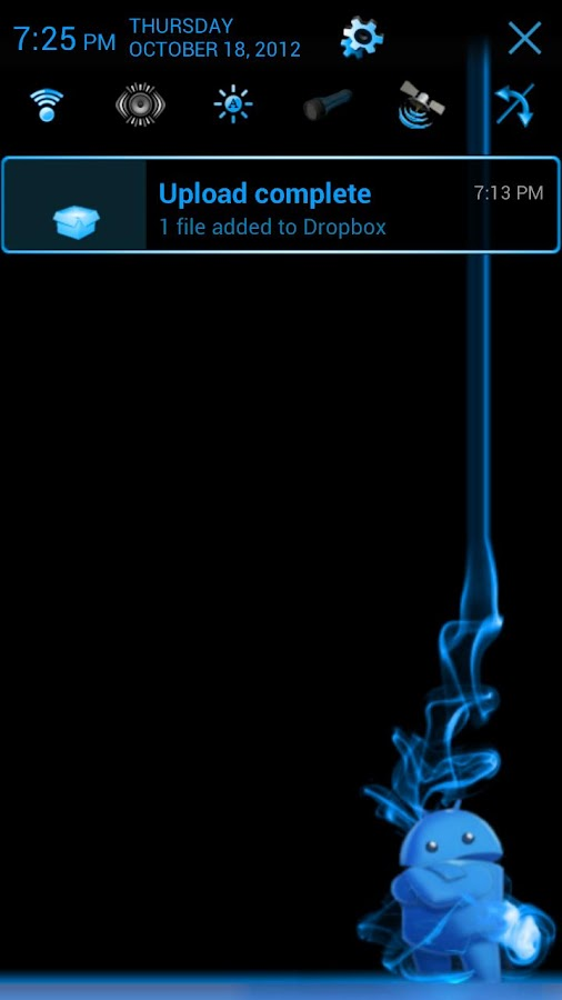 JellyBlueX (free) CM9/CM10- screenshot