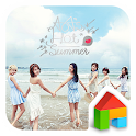 Hot Summer LINE Launcher Theme icon