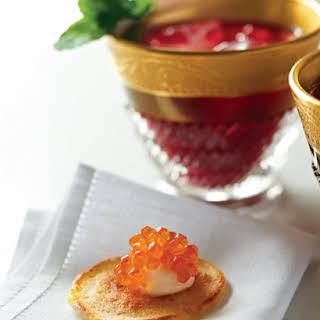 Blini with Caviar.