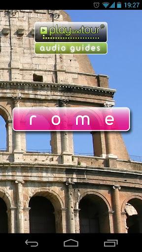 Rome audio guide