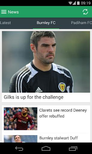 Burnley Express Football App