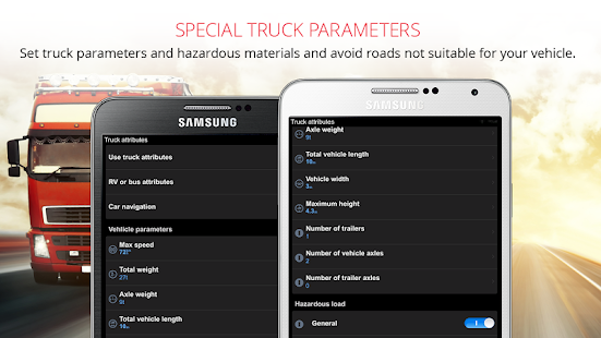 Sygic Truck GPS Navigation- screenshot thumbnail