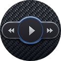 Skin for Poweramp Carbon Fiber icon