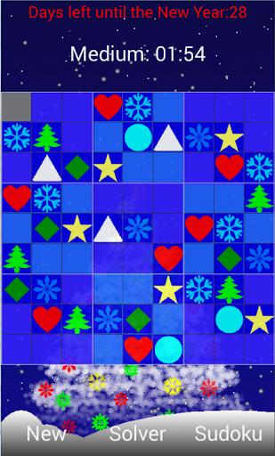 Sudoku New Year edition