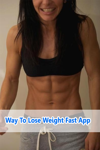 Way To Lose Weight Fast App