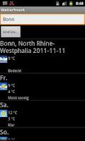 Screenshot of Wetterfrosch