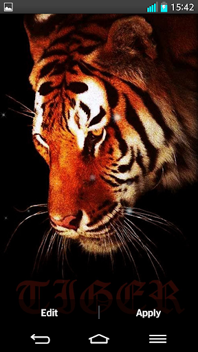 Tiger Live Wallpapers screenshot