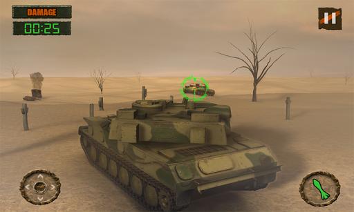 탱크 전쟁 공격 3D