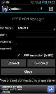 VpnROOT - PPTP - Manager v1.8.0