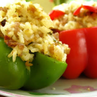 Simple Stuffed Peppers.