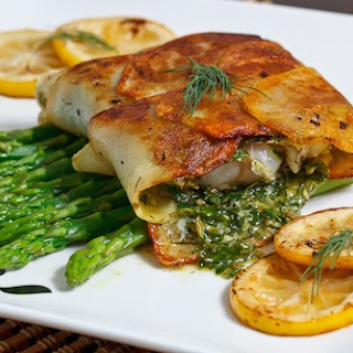 Cod Wrapped in Crispy Potatoes