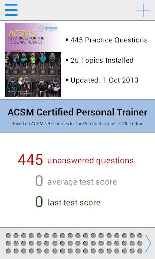 ACSM CPT Test Prep