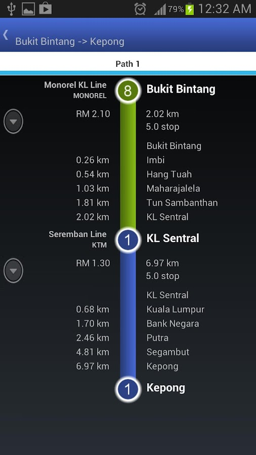 Metromy : Railway Malaysia - screenshot