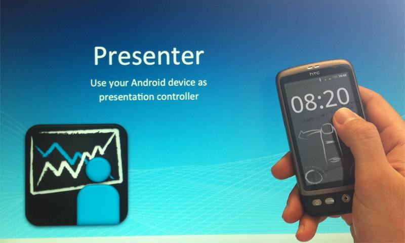 Presenter- screenshot