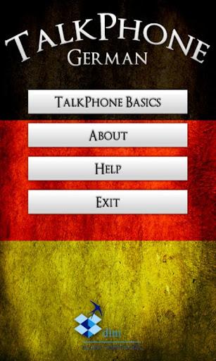 TalkPhone German Basics Lite