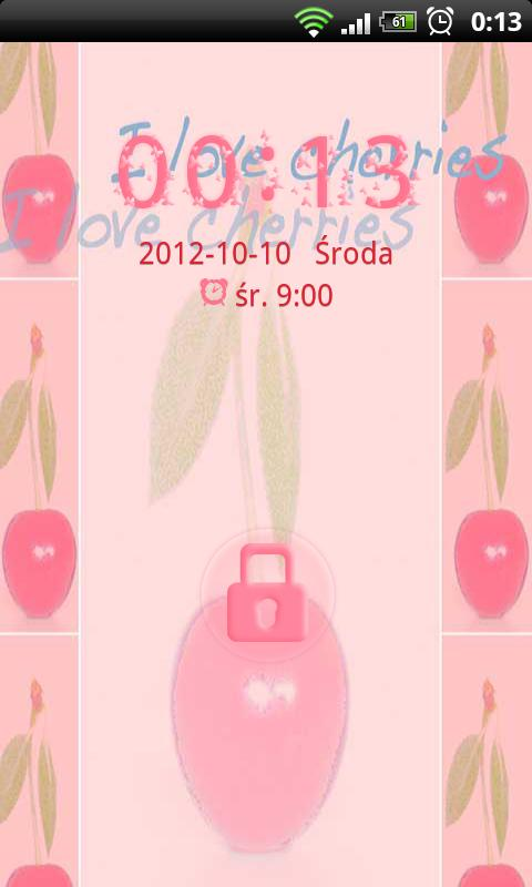 Cherries Theme for GO Locker- screenshot