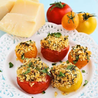 Baked Provençal Tomatoes.