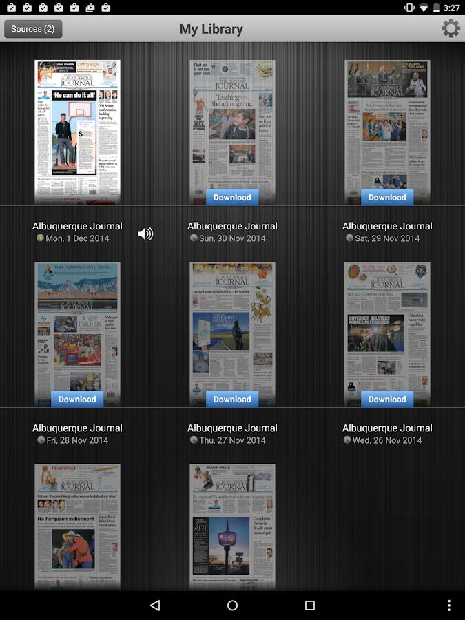 Albuquerque Journal Newspaper - screenshot