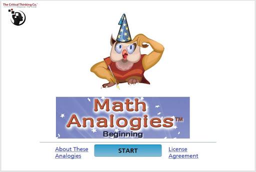 Math Analogies™ Beginning