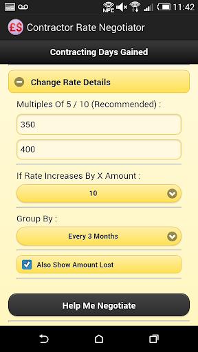 Compare Contract Rate Calc.