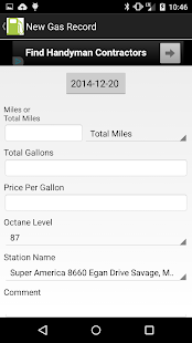 Gas Tracker- screenshot thumbnail