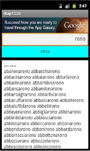iRap123 italiano - screenshot thumbnail