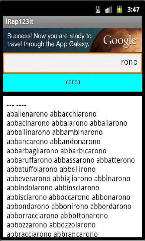 iRap123 italiano- screenshot