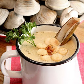 Sarge's New England Clam Chowder.