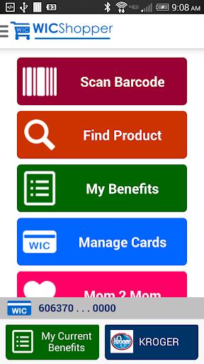 WICShopper Screenshot