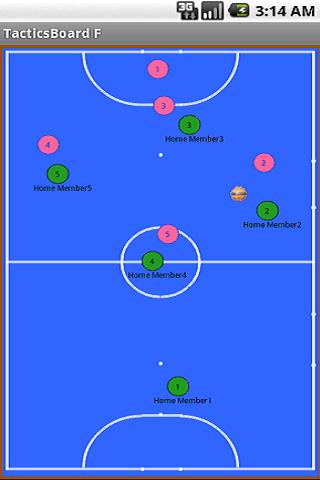 Futsal Tactics Board 2 2.4