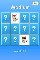 Screenshot of Animals Memory Game For Kids