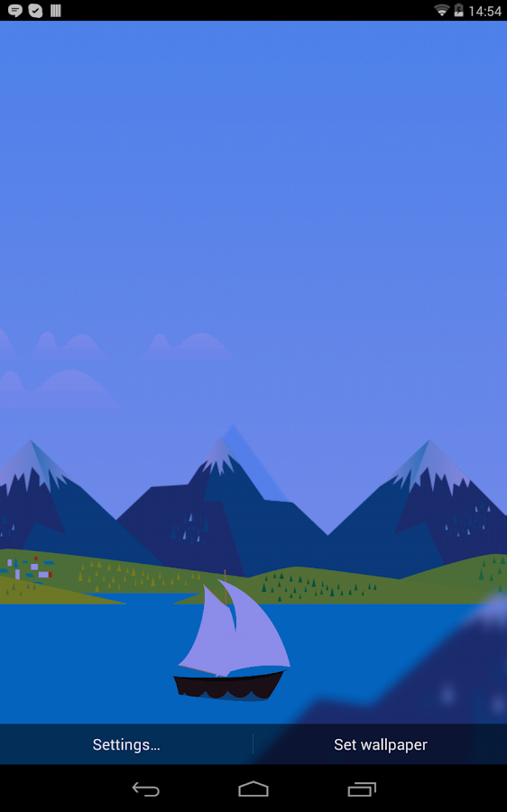 Mountains Now Full Wallpaper- screenshot