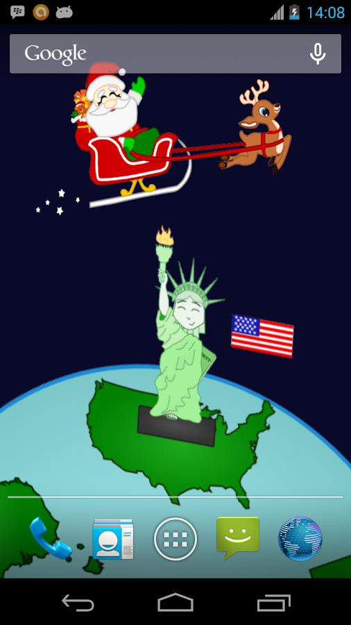Santa Around the World - screenshot
