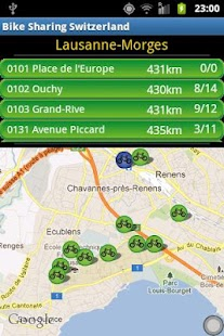 Bike sharing swiss free - screenshot thumbnail
